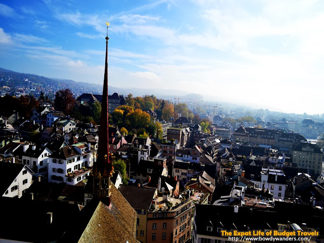 bowdywanders.com Singapore Travel Blog Philippines Photo :: Switzerland :: Grossmünster: The Unsurpassed View of Zurich