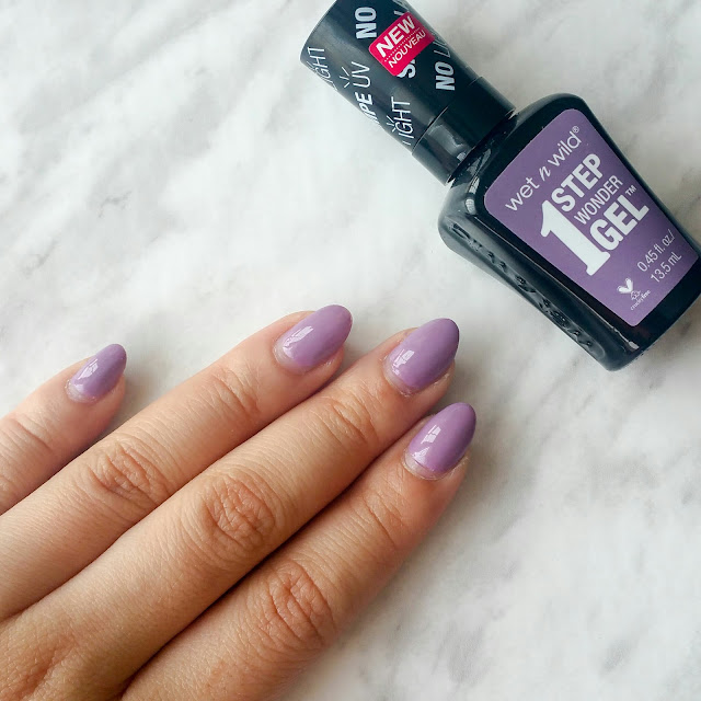 wet n wild lavender out loud, nail polish