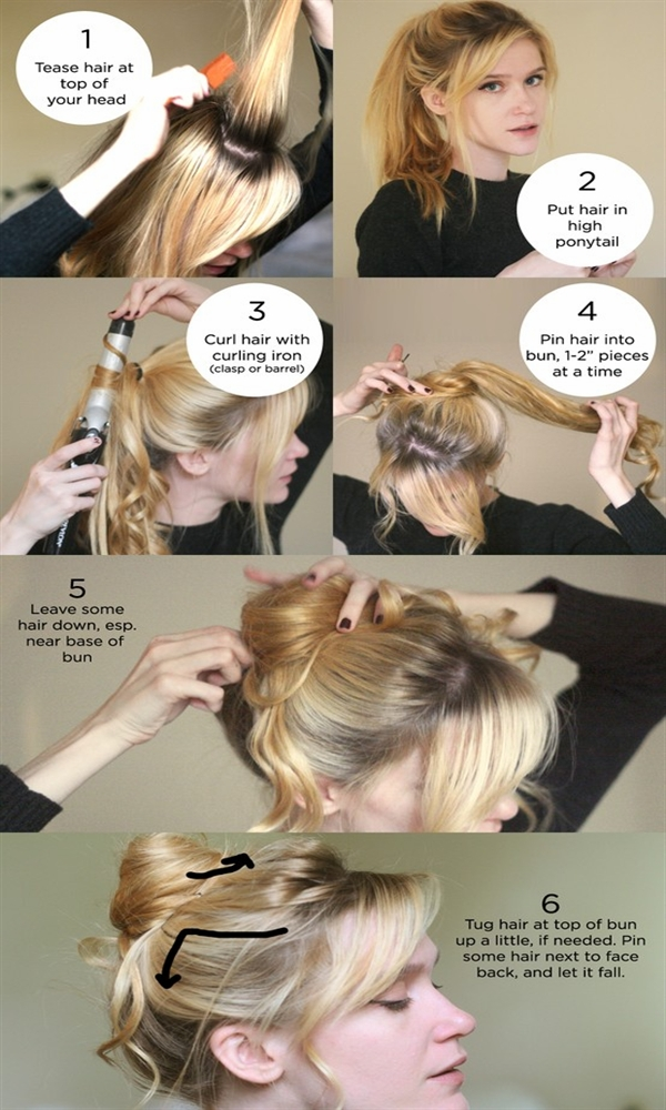 Sensational Quick Easy Hairstyles 5 Minute Stylesnew Short Hairstyles Gunalazisus