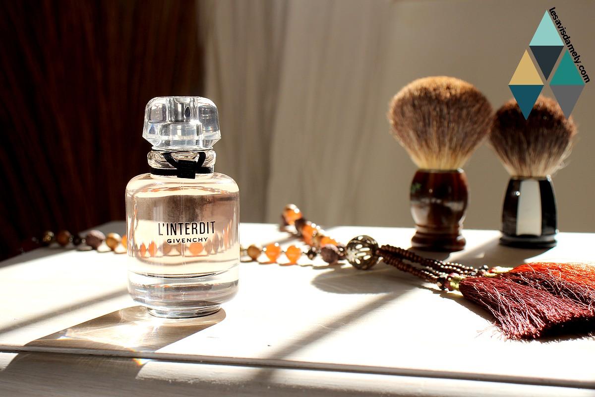 test et avis blog beauté parfum Givenchy