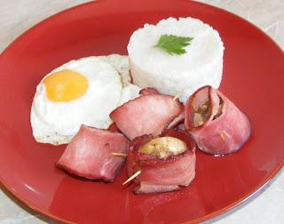 Retete de mancare reteta pilaf cu ou ochi si ciuperci umplute la cuptor,