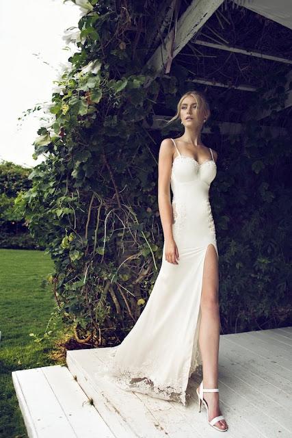 vestidos de novia sencillos para playa
