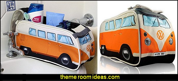 Volkswagen Wash Bags  Groovy Funky Retro Bedroom Pictures - 60s style theme decorating -  70s theme decorating - Funky Flower Power Bedrooms - 70's Theme Decor - 70s theme bedroom decorating - Psychedelic  Tie Dye Hippie Hippy style flower power era