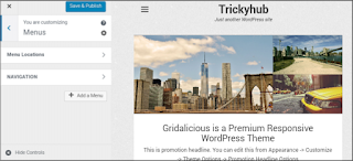 Add widgets in wordpress theme