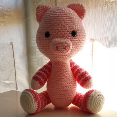 pork, amigurumi, pig, cerdo, cerdito
