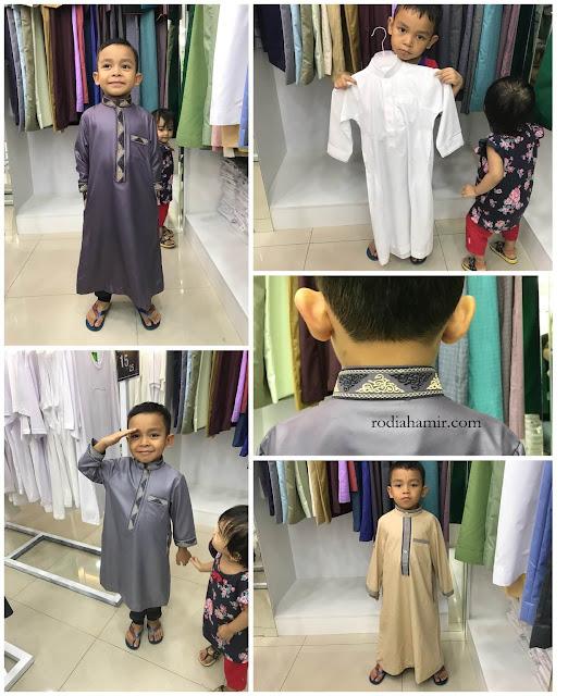 Jubah kanak-kanak Haqqi TTDI
