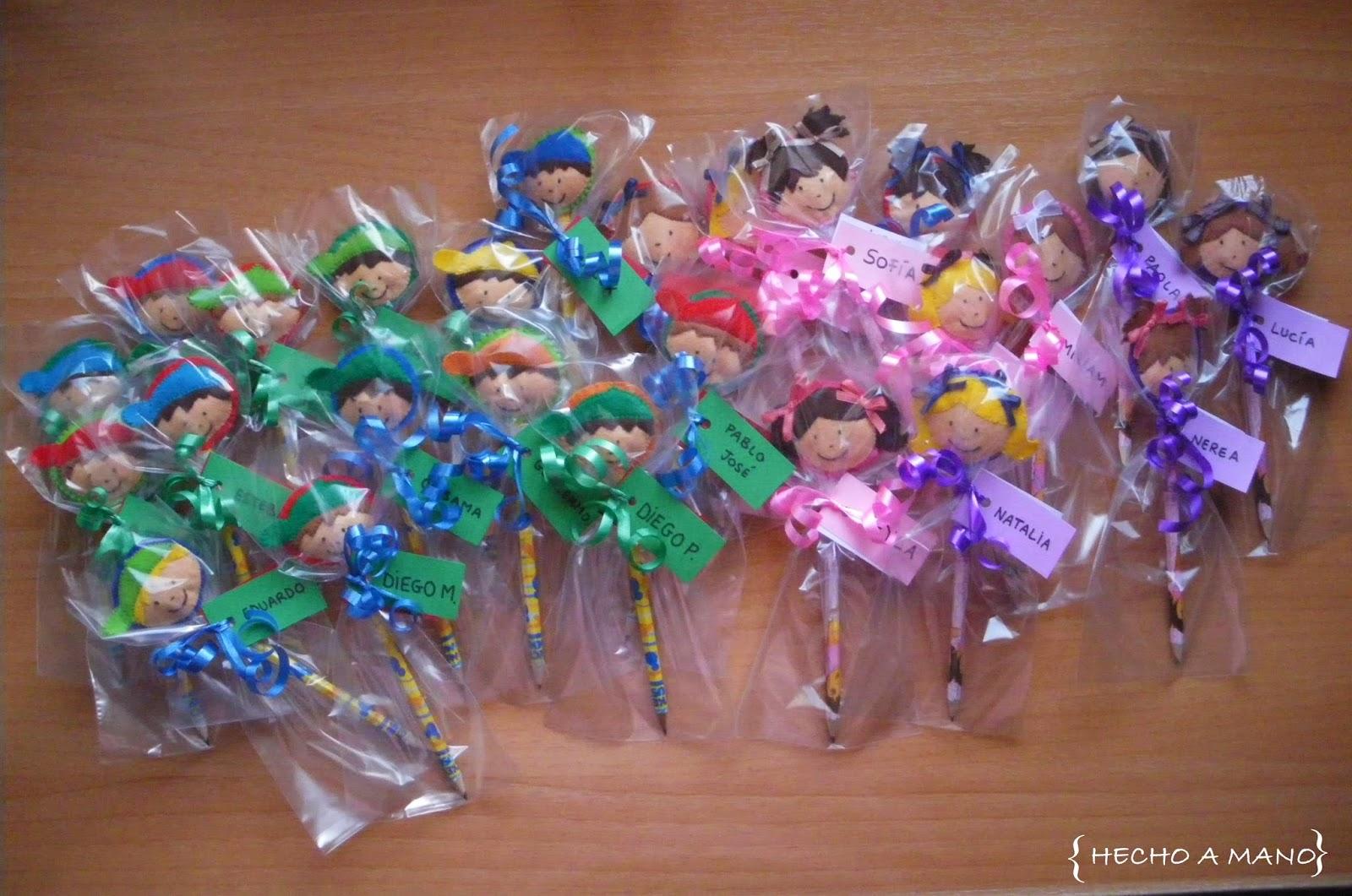 Hecho a mano regalo para mis alumnos - Regalos de boda para ninos ...