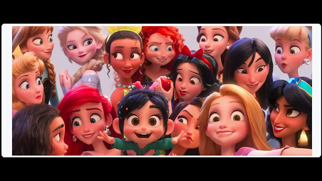 Vanellope and her friends