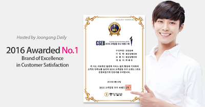 korea face contouring brand of excellence no 1