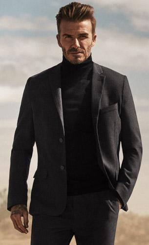 ropa hombre otoño David Beckham HM