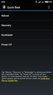 Cara root melalui recovery mode