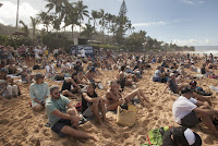 1 Pipe Crowd Billabong Pipe Masters foto WSL Steve Sherman