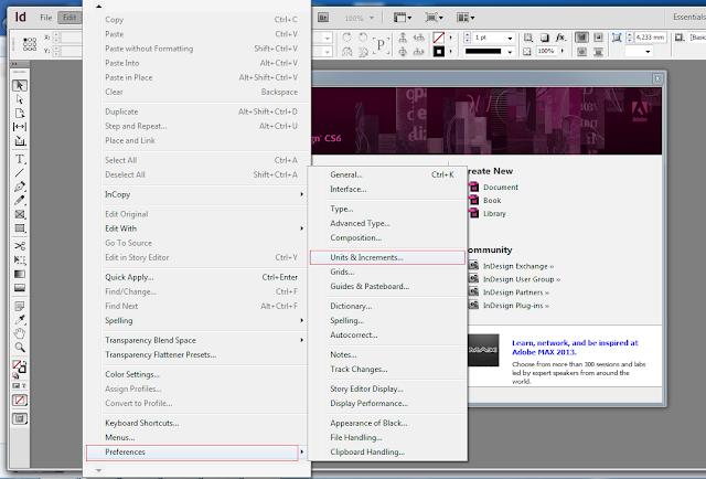 Cách tạo file mới và chọn khổ giấy trong Indesign