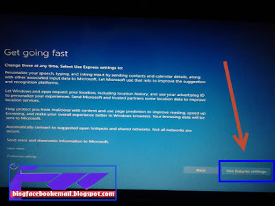 finishing cara instal windows 10