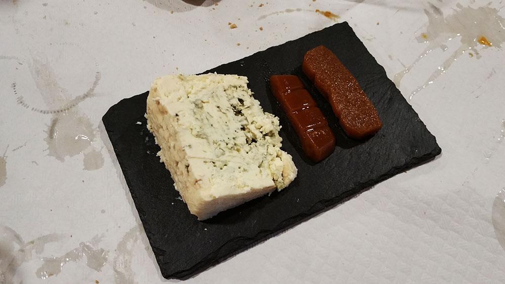 Casa Segundo Gijón, queso Peña Santa