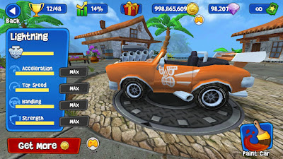 Game Nascar Rumble Racing di android