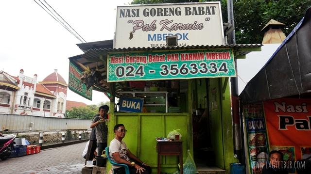 Nasi Goreng Babat Pak Karmin Mberok Semarang