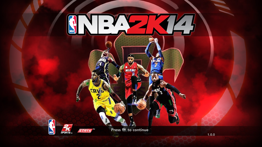 NBA 2K14 East All-Star 2014 Startup Screen Mod