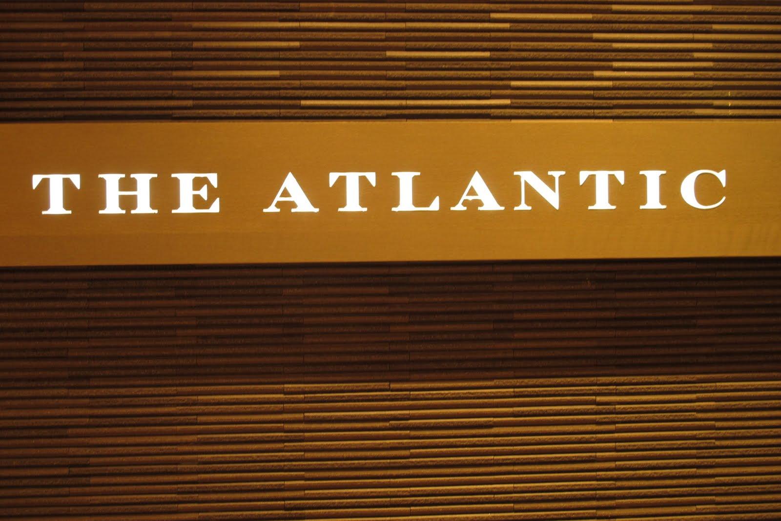 Atlantic Crown Melbourne Menu