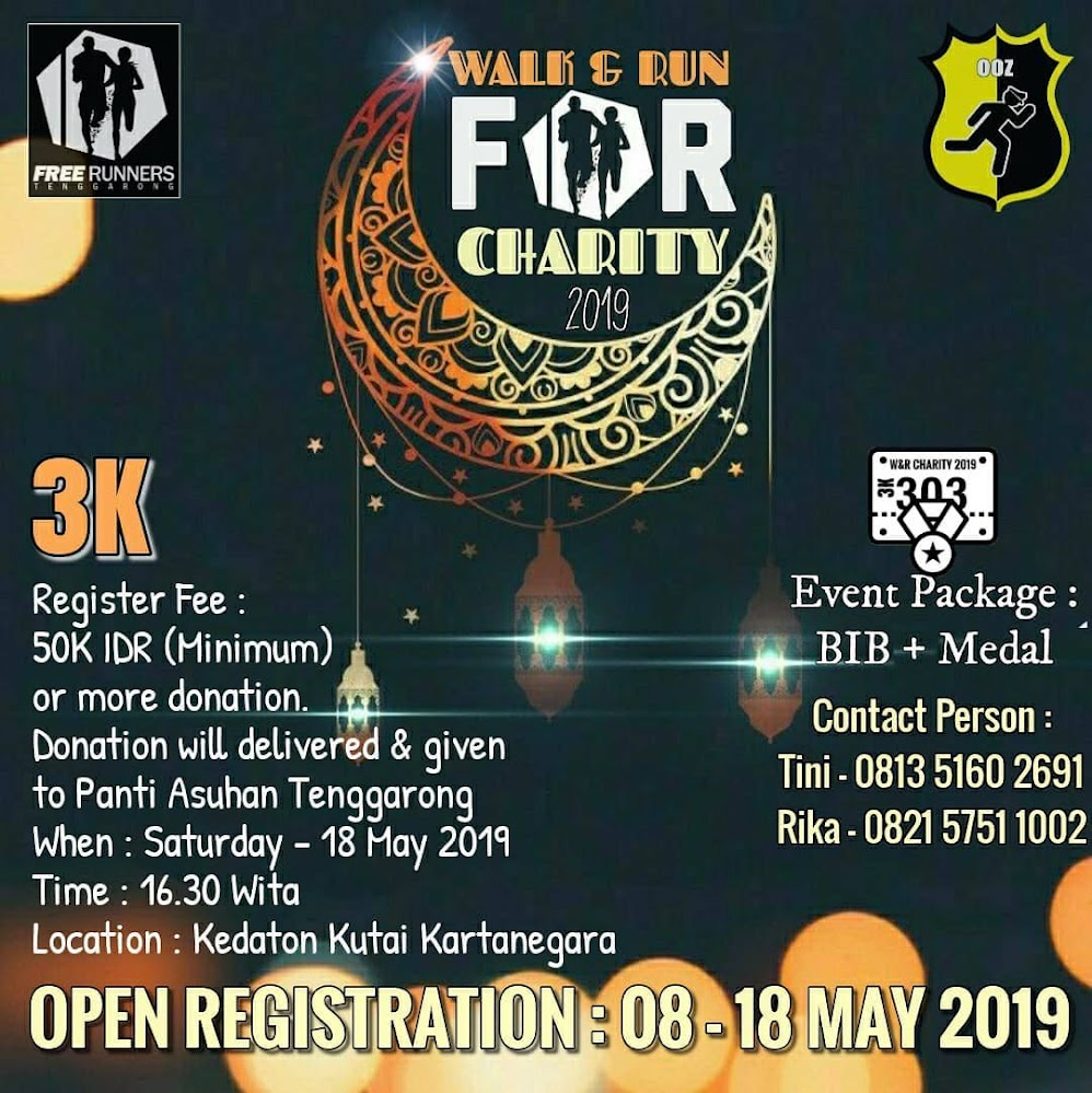 Pre-Iftar Walk & Run For Charity II • 2019