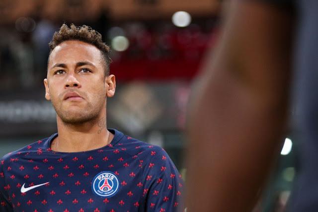 Neymar looks on as Substitute as PSG thrash Monaco 4-0