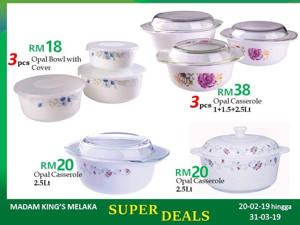 Madam King Melaka Promotion 2019
