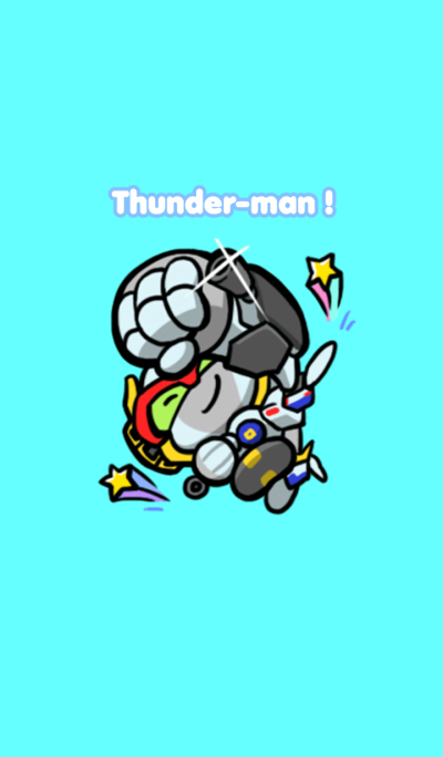 Mini Robot Thunderman No. 1