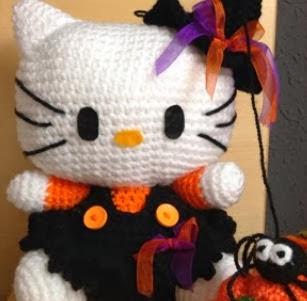 http://patronesamigurumipuntoorg.blogspot.com.es/2013/11/kitty-bruja.html#.Uqw_6SfpxVc