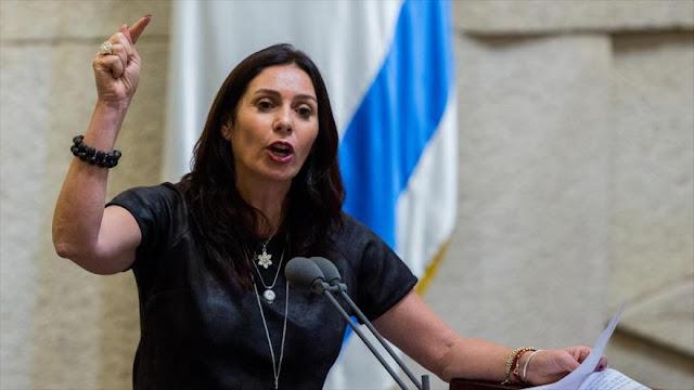 """Ministra israelí insta a """"asesinato selectivo"""" de líderes de HAMAS"""