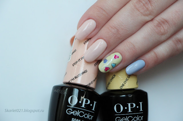 OPI gelcolor Soft Shades PASTELS