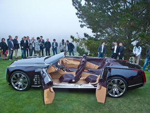 Cadillac Designers Pulled The Wraps Off Luxury Division S New Ciel Concept Car At A Sneak Preview Prior To Official Public Debut Which Will Take