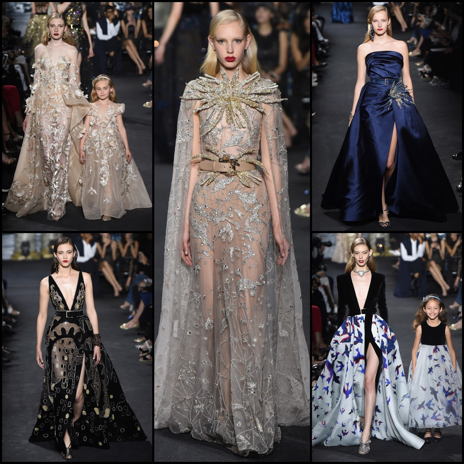 Runway report elie saab haute couture fall winter 2016 for Haute couture fashion