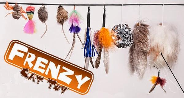Наживки для удочки-дразнилки Flying Frenzy