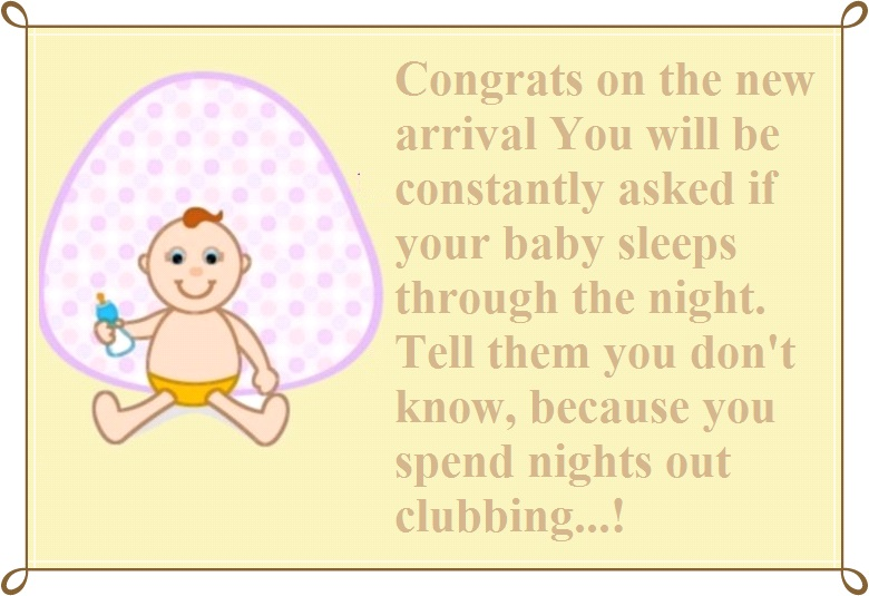 Funny Congratulation Messages for New Baby | Cute Instagram