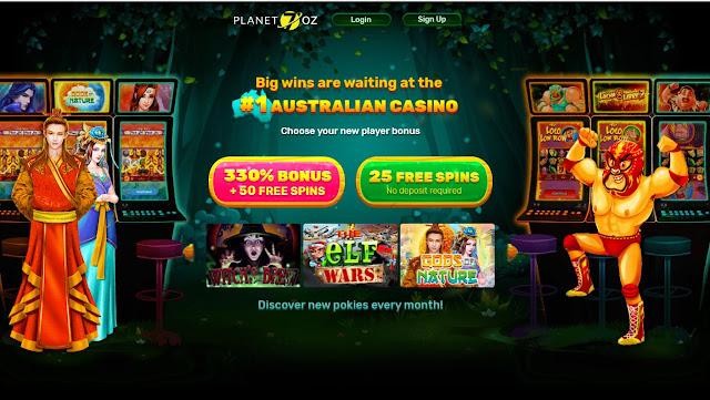 Planet7Oz casino bonuses