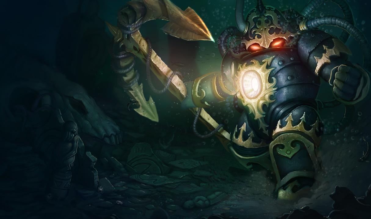 League Of Legends New Nautilus Vayne Skins Unreleased Dark