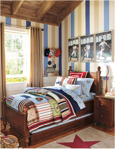 Young Boys Sports Bedroom Themes | Room Design Inspirations