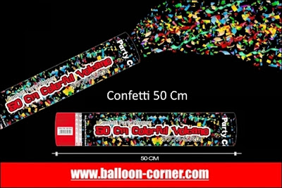 Party Popper / Confetti Ukuran 50 Cm