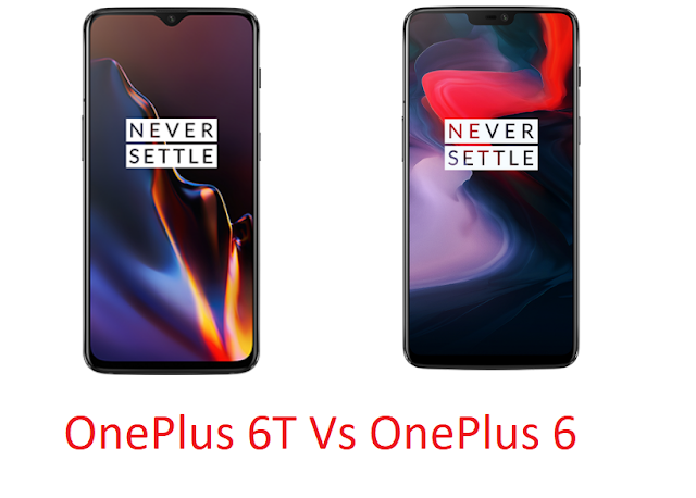 OnePlus 6T Vs OnePlus 6 Comparison with price and specs