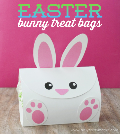 Free Printable Easter Bunny Treat Bags At Artsysymama