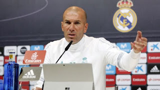 Sport: Champions League! I have no doubt who will play against PSG – Zidane