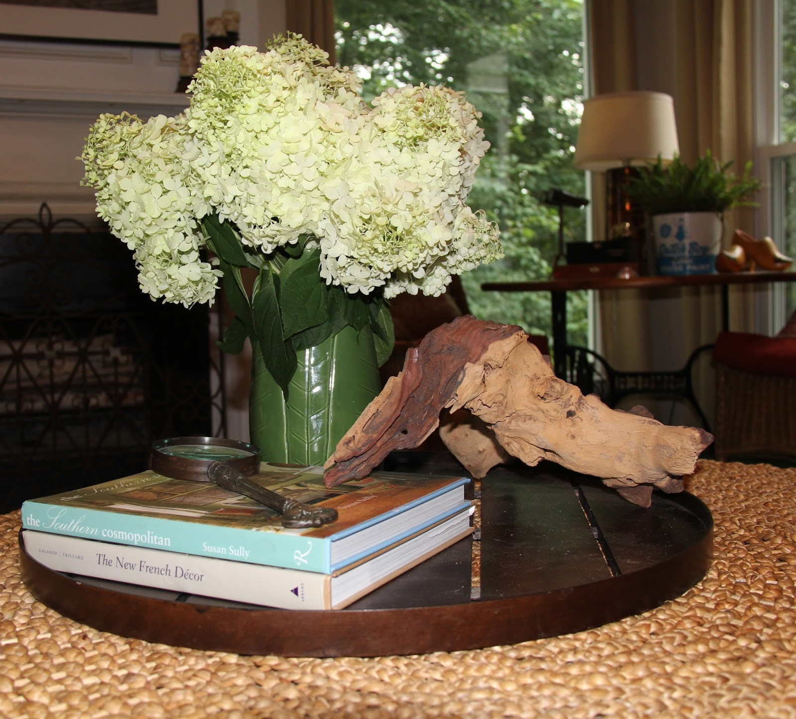 Chapin Group Interiors Styling A Round Coffee Table