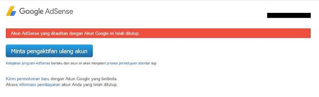 Untuk lebih memastikannya, Sobat bisa login ke Google Adsense.
