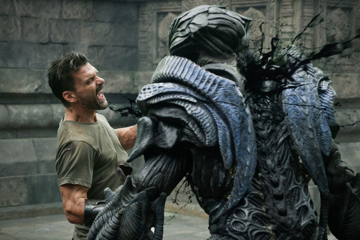 Review Beyond Skyline Is The Wacko Sci Fi Martial Arts Movie You