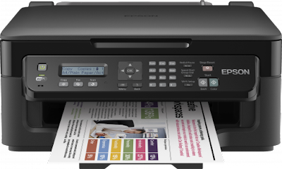 WF wireless multifunction colour printer Epson Workforce WF-2510WF Driver Downloads