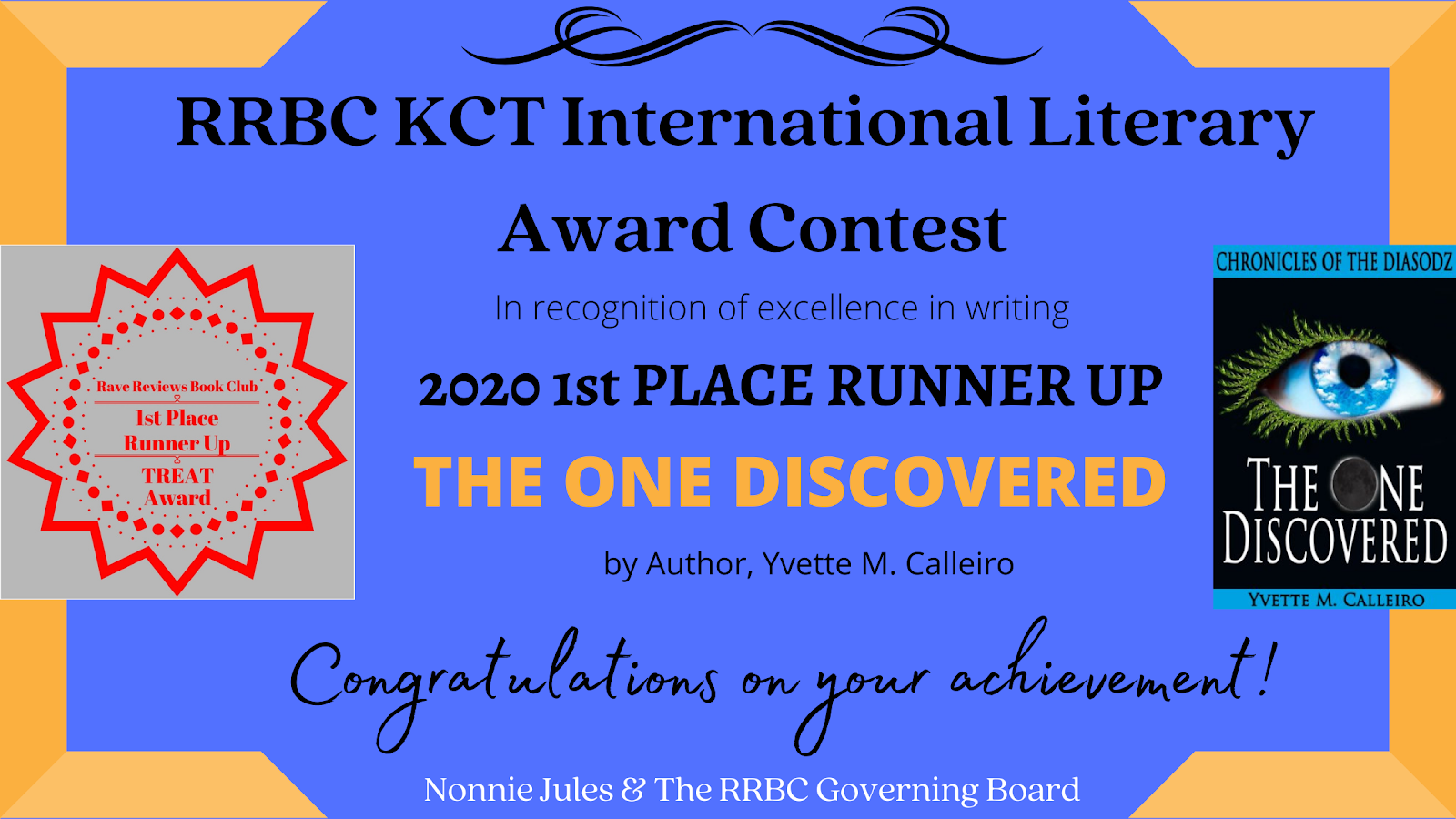 2020 RRBC KCT Int' Literary Award