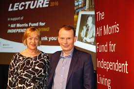 Alf Morris Lecture 2016: Andrew Marr and Jacke Ashley