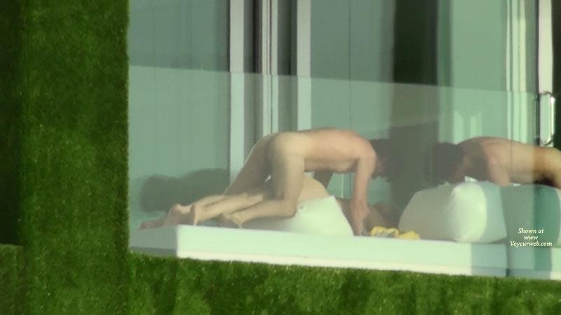 Hotel Window Nude 46