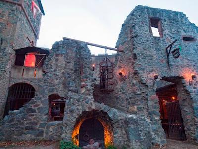 Castillo de Frankenstein en Halloween