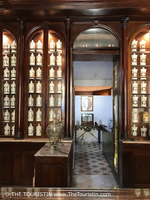 Museo Farmacia Taquechel vieja havana cuba the touristin